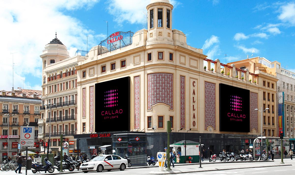 Exteriores de los cines callao en madrid